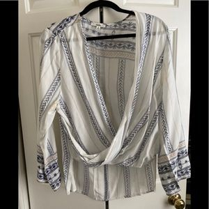 INTO size 8 blouse